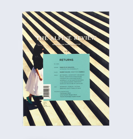 The Alpine Review Issue N°2 Magazine Cover