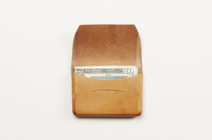 FEIT hand made vegetable tanned leather natural horizontal wallet The Fussy Curator Singapore #fussysg