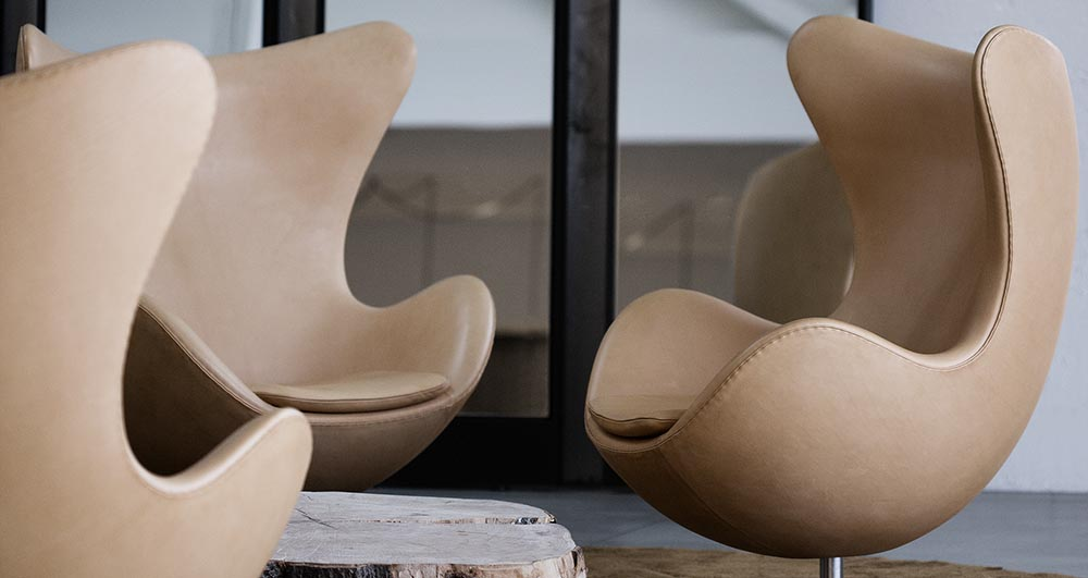 Fritz Hansen Arne Jacobsen Egg Chair The Fussy Curator Singapore #fussysg