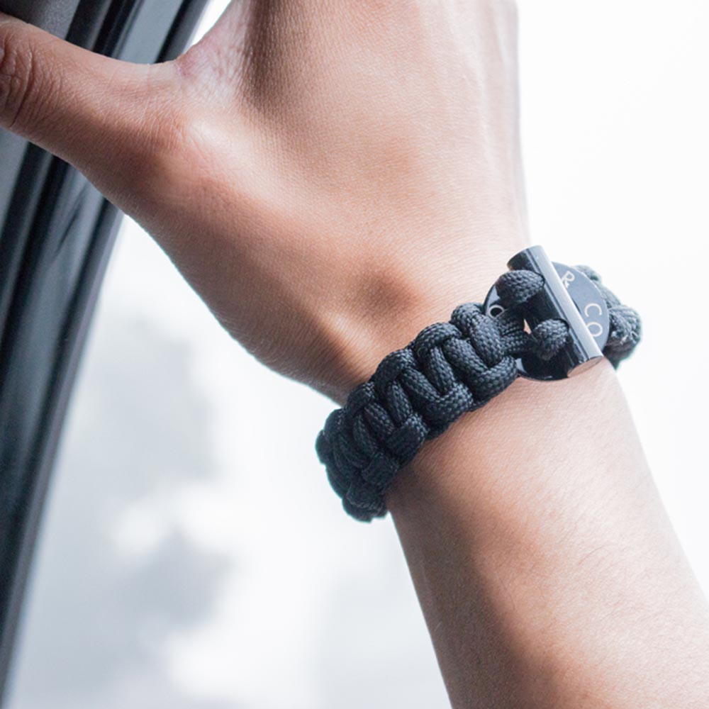 Bomber Barrel Firestarter Paracord Bracelet The Fussy Curator Singapore #fussysg