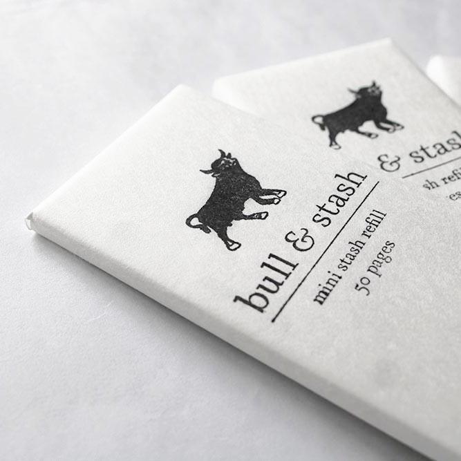 Notebook Mini Stash Refill Bull & Stash The Fussy Curator Singapore #fussysg