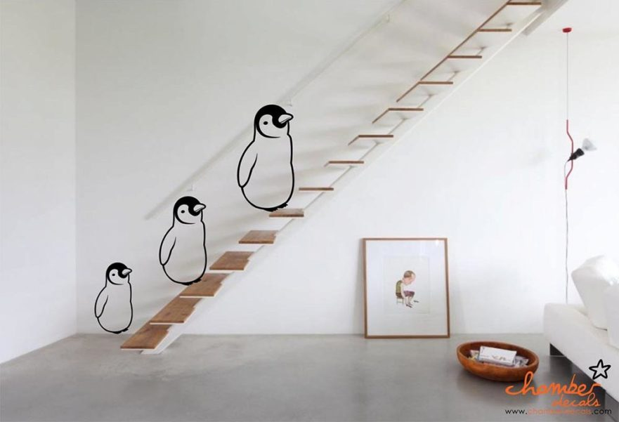 Chamber Decals Penguin Singapore The Fussy Curator #fussysg