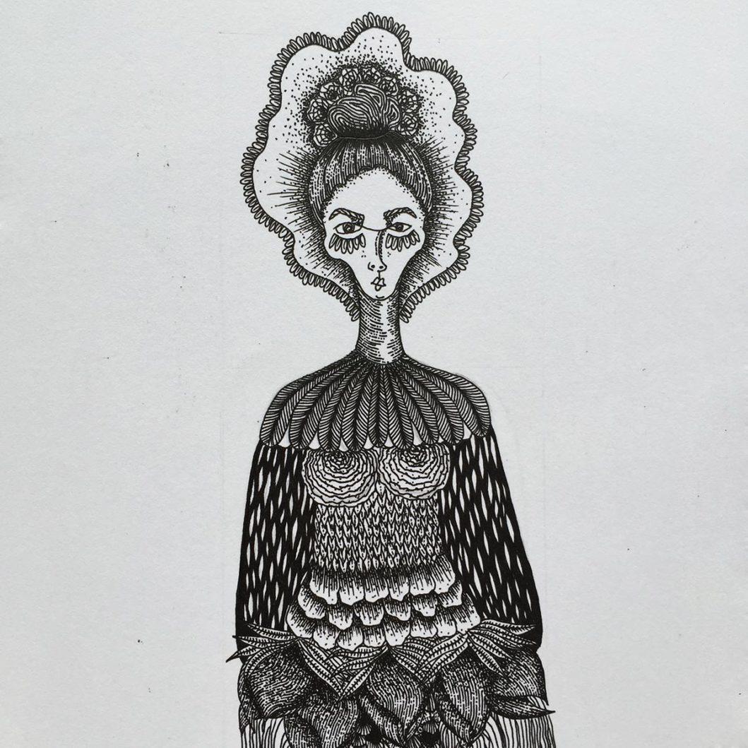 Michelle Maxine Illustrator contramemory FUSSY Singapore 2